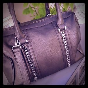Silver Charming Charlie Handbag